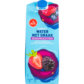 1 de Beste Bronwater + fruit light bosvruchten