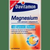 Davitamon Magnesium tabletten voor spieren en botten