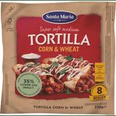 Santa Maria Tortilla corn-wheat 8 stuks