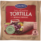 Santa Maria Tortilla whole wheat 8 stuks