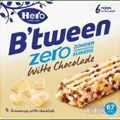 Hero B'tween zero witte chocolade 6 stuks