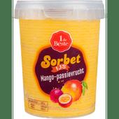 1 de Beste Sorbetijs mango-passievrucht