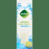 Melkan Zuiveldrink limoen 0% vet