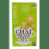 Clipper Chai green tea organic