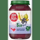 Bonbébé Fruithapje 6+ maanden appel-bosbes-peer-banaan