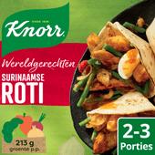 Knorr Wereldgerecht - Surinaamse roti