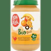 Bonbébé Fruithapje 6+ maanden appel-banaan-sinaasappel