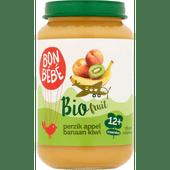 Bonbébé Fruithapje 12+ maanden perzik-appel-banaan-kiwi
