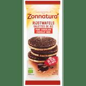 Zonnatura Rijstwafels pure chocolade