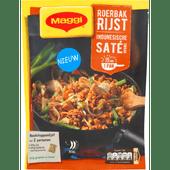 Maggi Roerbak rijst indonesische sate