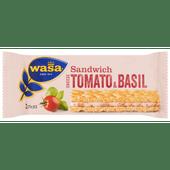 Wasa Sandwich tomaat & basilicum