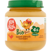 Bonbébé Fruithapje 4+ maanden appel-perzik-banaan