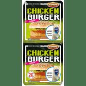 Flemmings Chickenburger 2 stuks