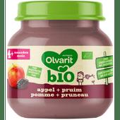 Olvarit Bio 4+ maanden appel-pruim