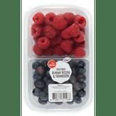 1 de Beste Fruitmix blauwe bes-framboos