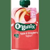 Organix Yoghurt apple-strawberry 6+ maanden