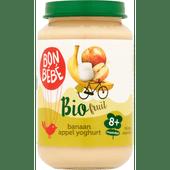 Bonbébé Fruithapje 8+ maanden banaan-appel-yoghurt