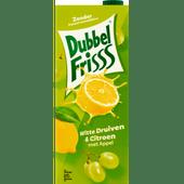 Dubbelfrisss Witte druif-citroen