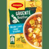 Maggi Bouillonblokjes groente minder zout