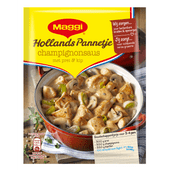 Maggi Hollands pannetje champignonsaus