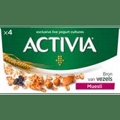 Activia Yoghurt muesli 4 stuks