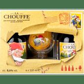 La Chouffe Geschenkverpakking met glas