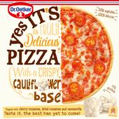 Dr. Oetker Yes its pizza cauliflower crust