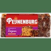 Peijnenburg Ontbijtkoek rozijnen ongesneden