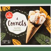 1 de Beste Premium cornet salted caramel 4 st.