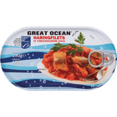 Great Ocean Haringfilets in tomatencreme saus