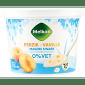 Melkan Kwark vanille-perzik