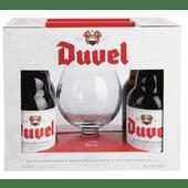Duvel Belgisch speciaalbier met glas
