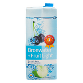 1 de Beste Bronwater + fruit light appel-kers
