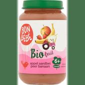 Bonbébé Fruithapje 6+ maanden appel-peer-banaan-aardbei