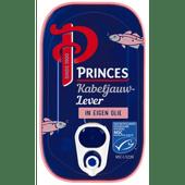 Princes Kabeljauwlever in eigen olie