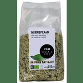 Raworganic Hennepzaad raw biologisch