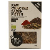 Raworganic Crackers zaden pitten