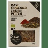 RAW Organic Food Crackers zaden pitten