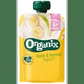 Organix Yoghurt 6+ maanden appel-banaan