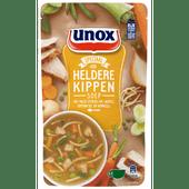 Unox Soep in zak kip-noodle