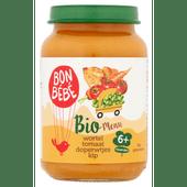 Bonbébé Biomenu 6+ maanden doperwten-kip-rijst