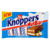 Knoppers Nutbar 5 suks