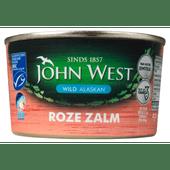 John West Zalm roze