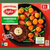 Iglo Ping en klaar hamburger groente