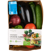 Fresh & easy Verspakket groene curry