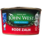 John West Zalm rood