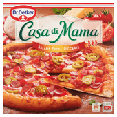 Dr. Oetker Casa di mama pizza salame extra piccante