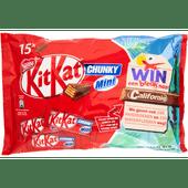 Nestlé Kitkat chunky mini reepjes