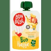 Bonbébé Biohapje 6+ maanden appel-perzik-banaan