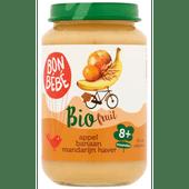 Bonbébé Fruithapje 8+ maanden appel-banaan-mandarijn-haver